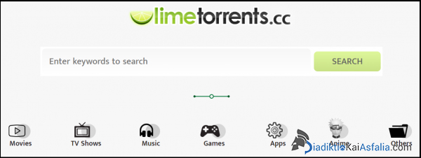 limetorrents για λήψη torrents