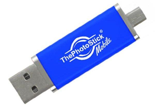 Το The Photo Stick Mobile είναι η μέθοδος για backup του κινητού