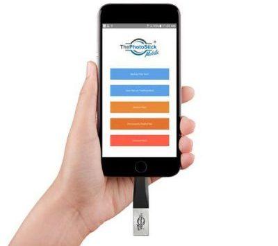 Η έκδοση του The Photo Stick Mobile για iOS