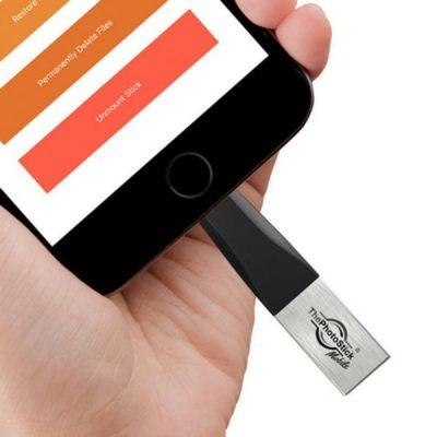 Εύκολο backup εικόνων με το The Photo Stick Mobile σε iOS