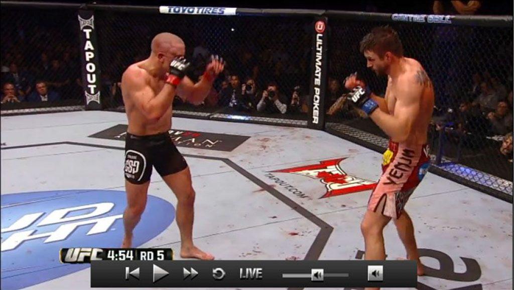 UFC VPN για live streaming