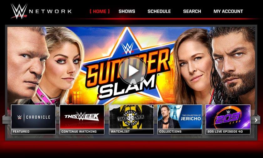 WWE RAW μέσω διαδικτύου και VPN
