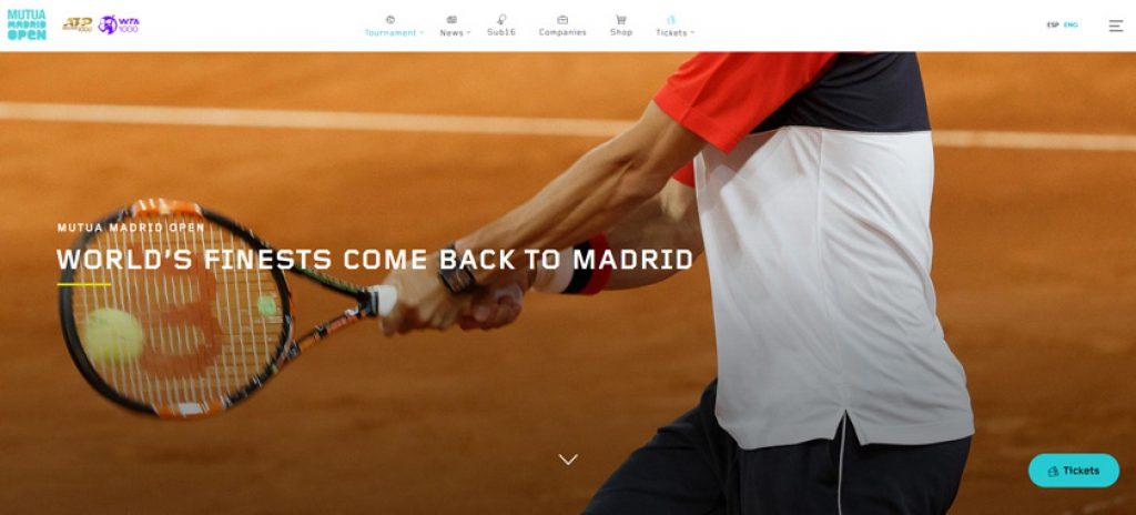 παρακολουθήστε το open της Μαδρίτης