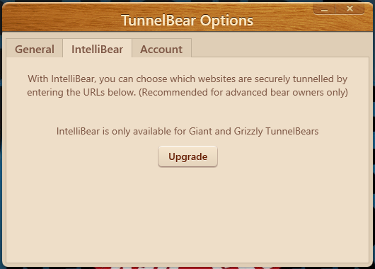 tunnelbear intellibear